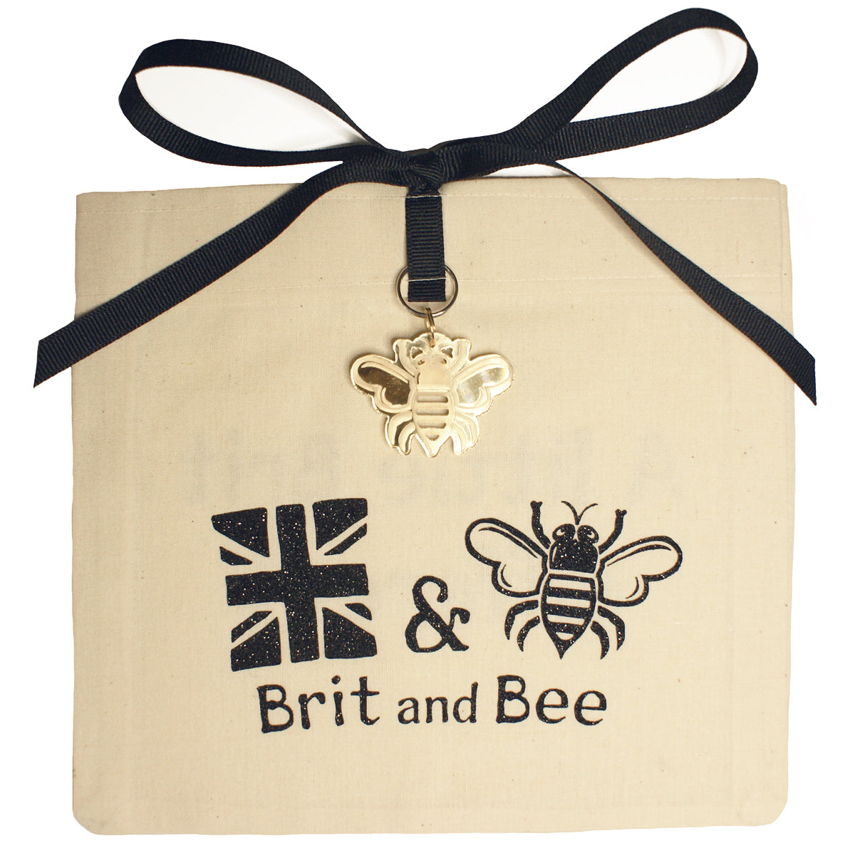 Brit and Bee Sorority Ribbon Year Decal - Kappa Alpha Theta