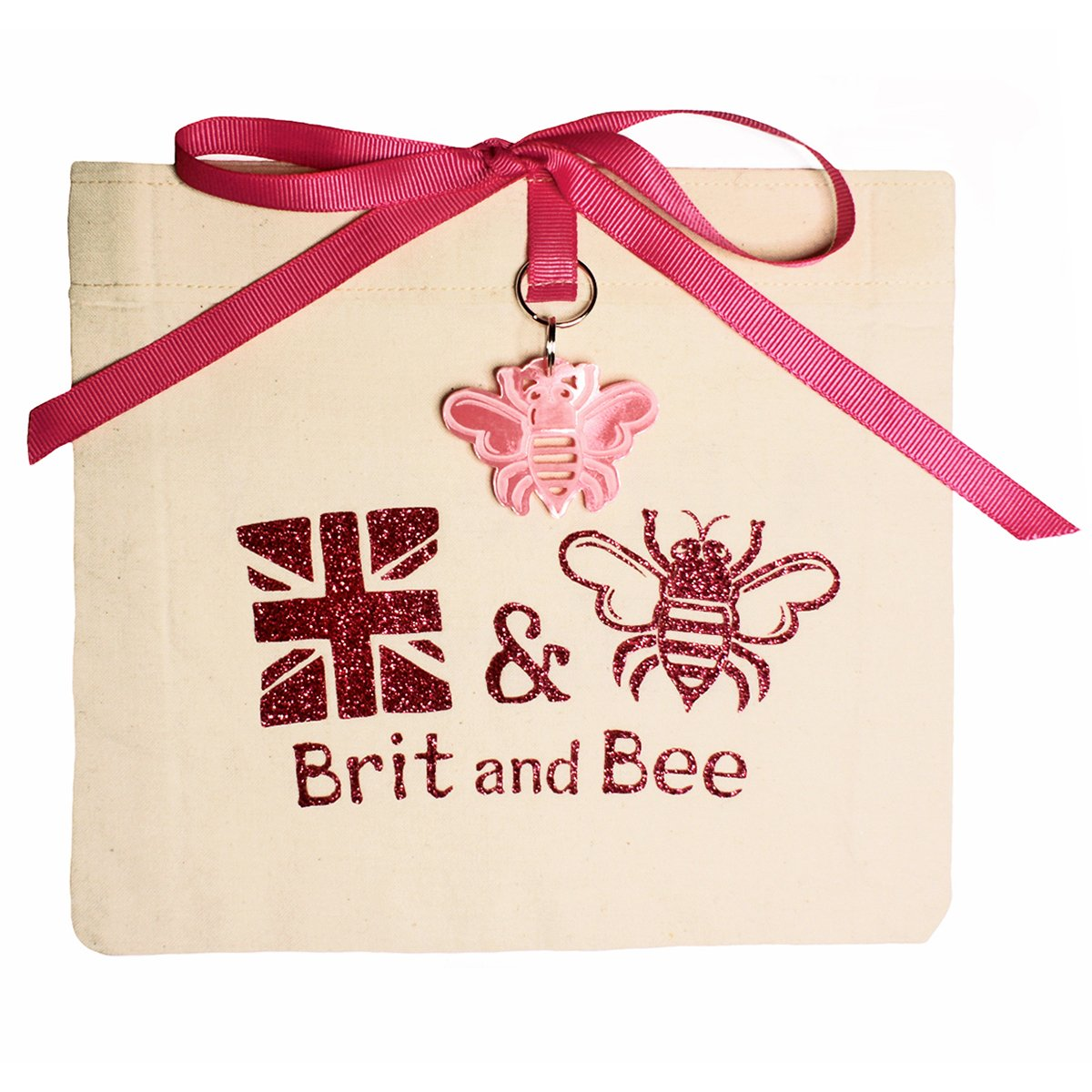 Breast Cancer Hope Ribbon Ornament | Brit and Bee