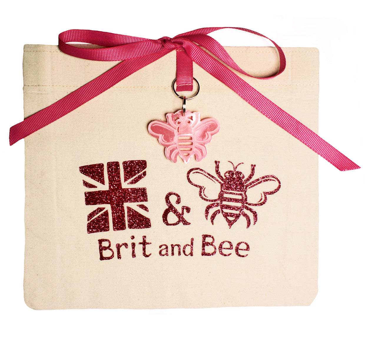 Brit and Bee Sorority Monogram Coaster - Phi Mu