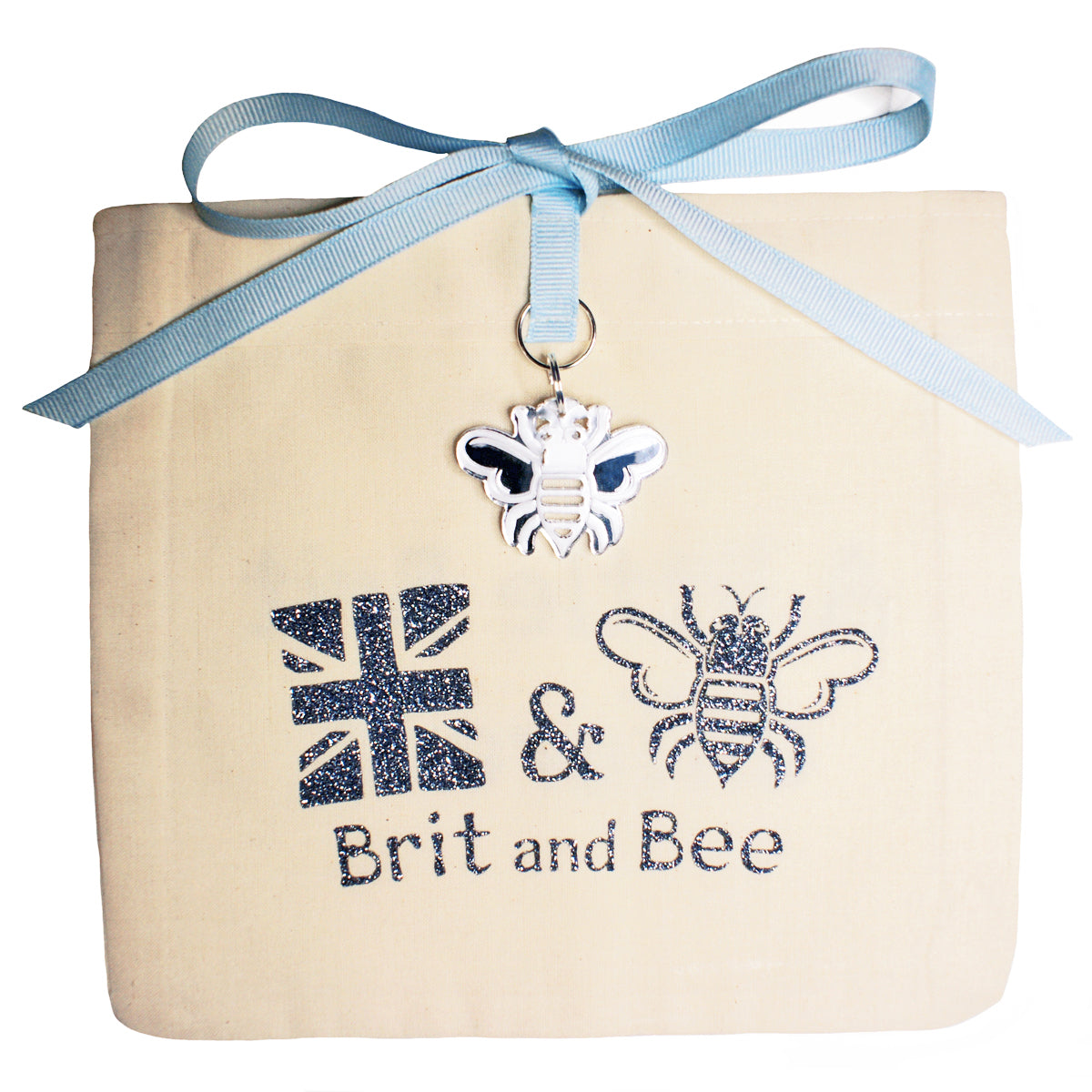 Brit and Bee Sorority Ribbon Mom Decal - Pi Beta Phi