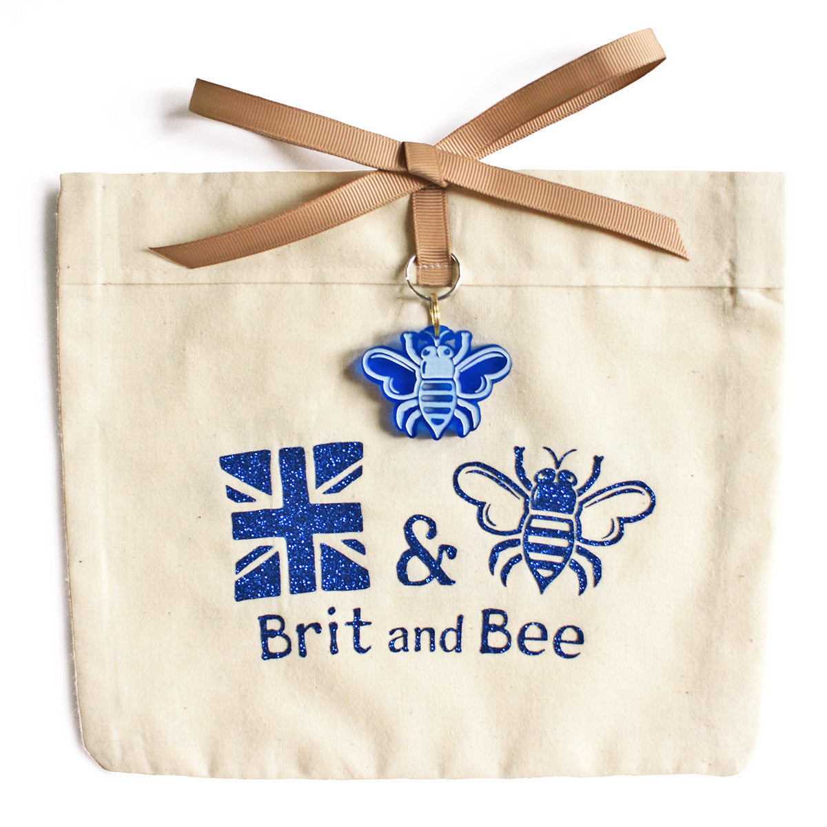 Brit and Bee Sorority Logo Ornament - Sigma Delta Tau