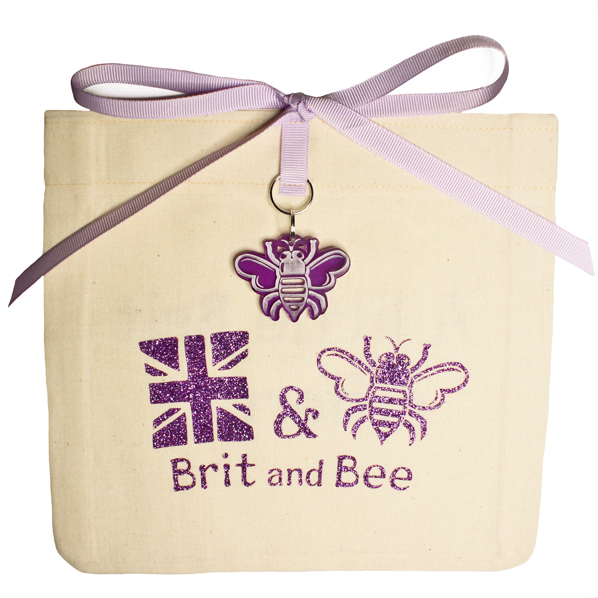 Brit and Bee Sorority Ribbon Alumna Decal - Sigma Sigma Sigma