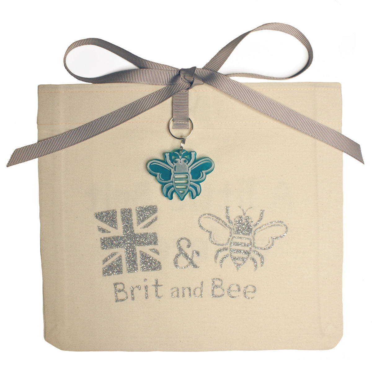 Brit and Bee Sorority Ribbon Alumna Decal - Zeta Tau Alpha