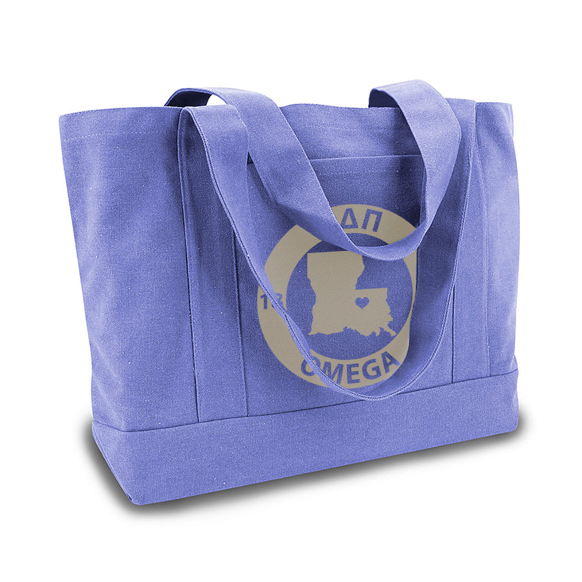 Alpha Delta Pi State Book Tote Bag | Brit and Bee