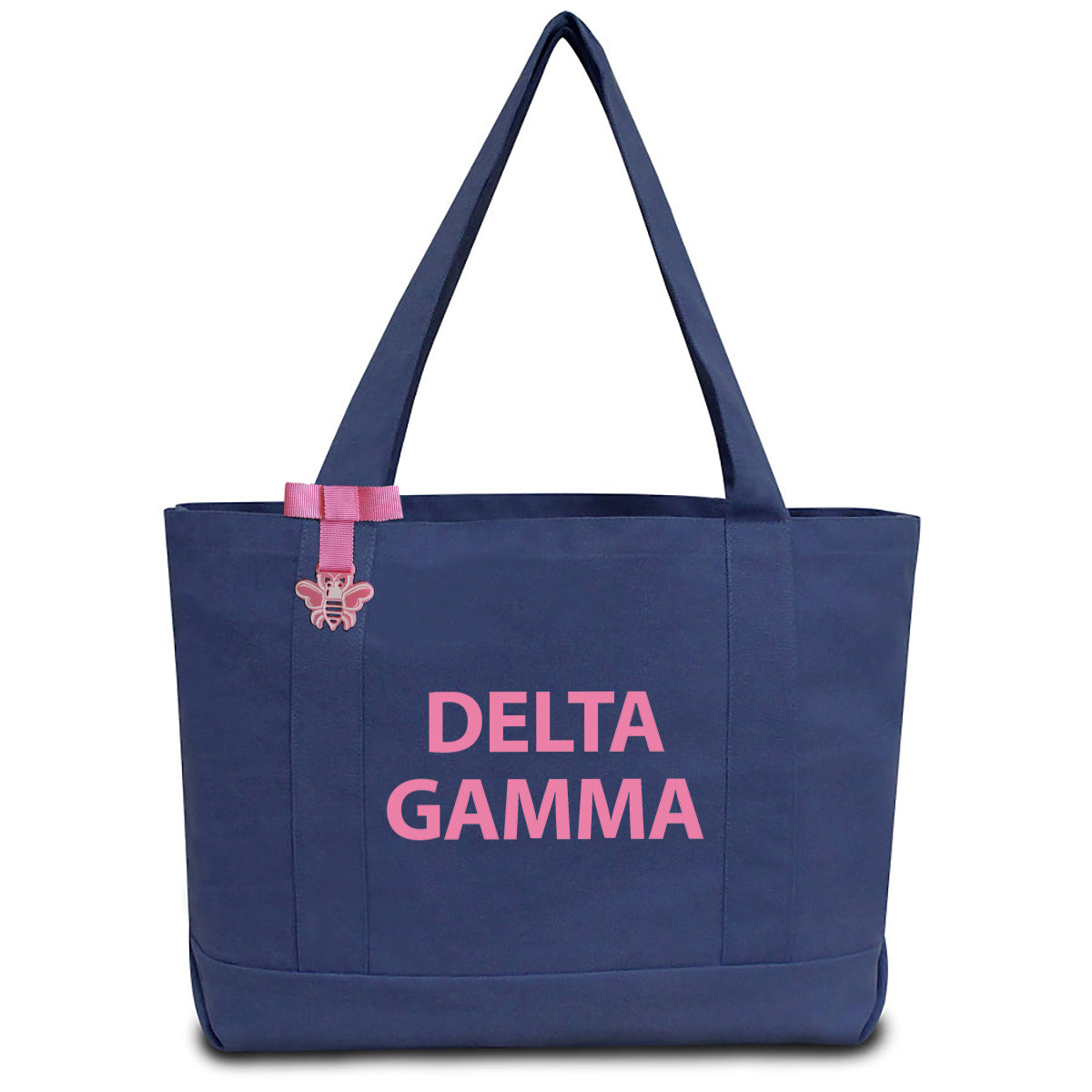 Delta Gamma State Book Tote Bag | Brit and Bee