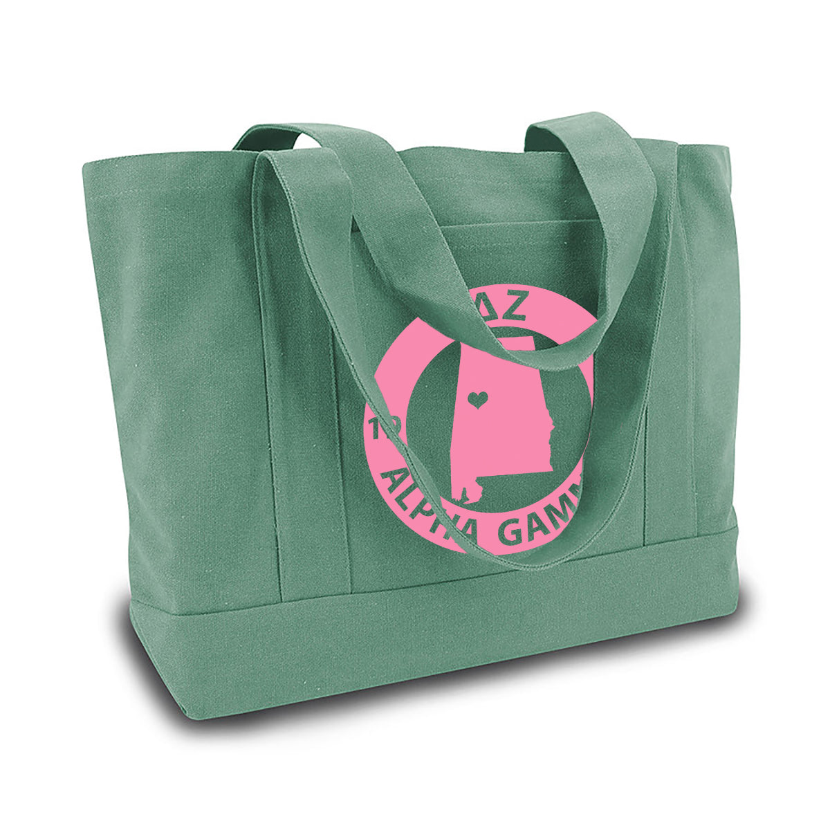 Delta Zeta State Book Tote Bag | Brit and Bee