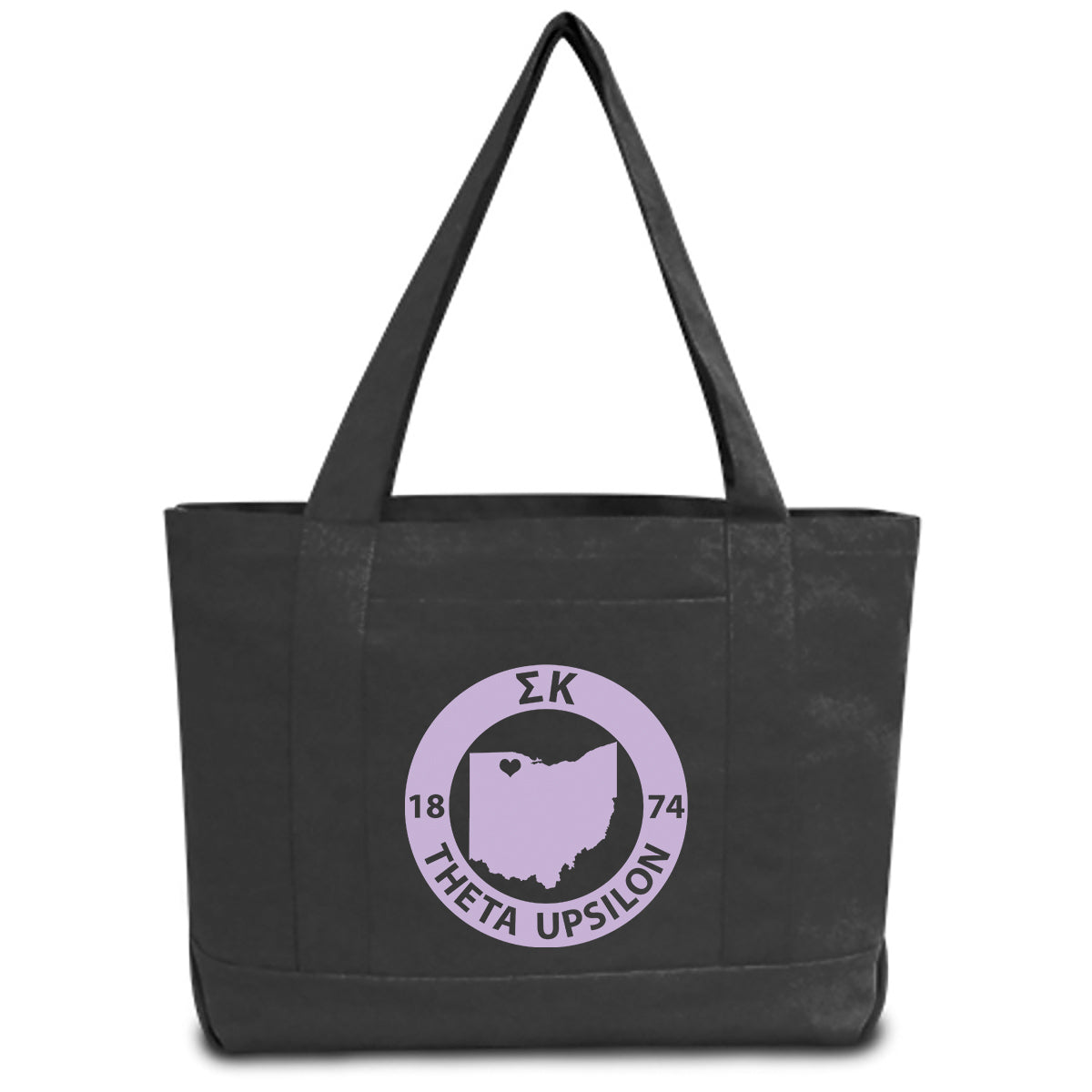 10a4494a6e Sigma Kappa - Sorority State Book Tote Bag | Brit and Bee