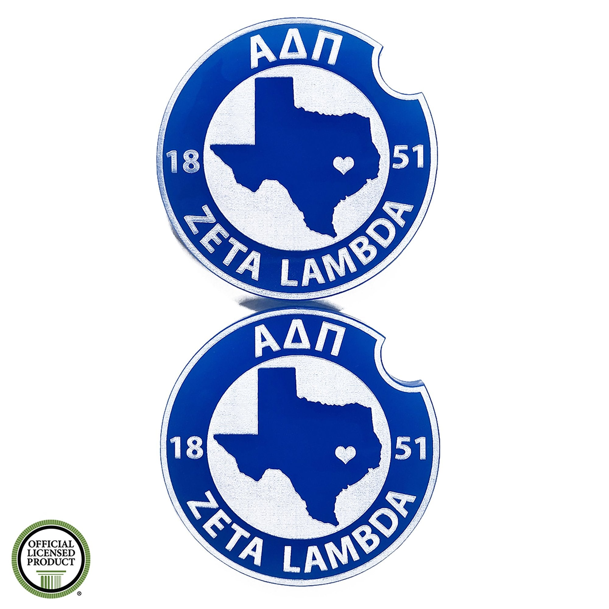 Alpha Delta Pi Car Coasters | Brit and Bee