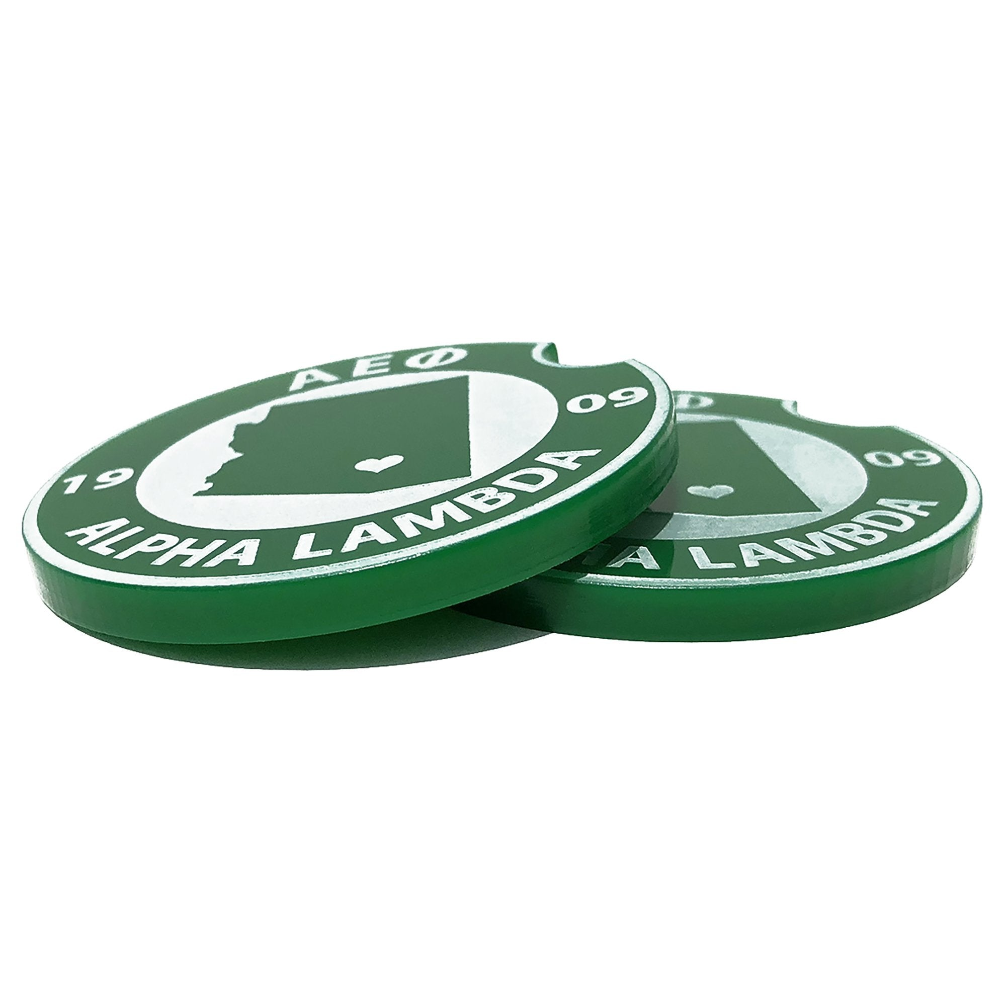 Alpha Epsilon Phi Car Coasters | Brit and Bee