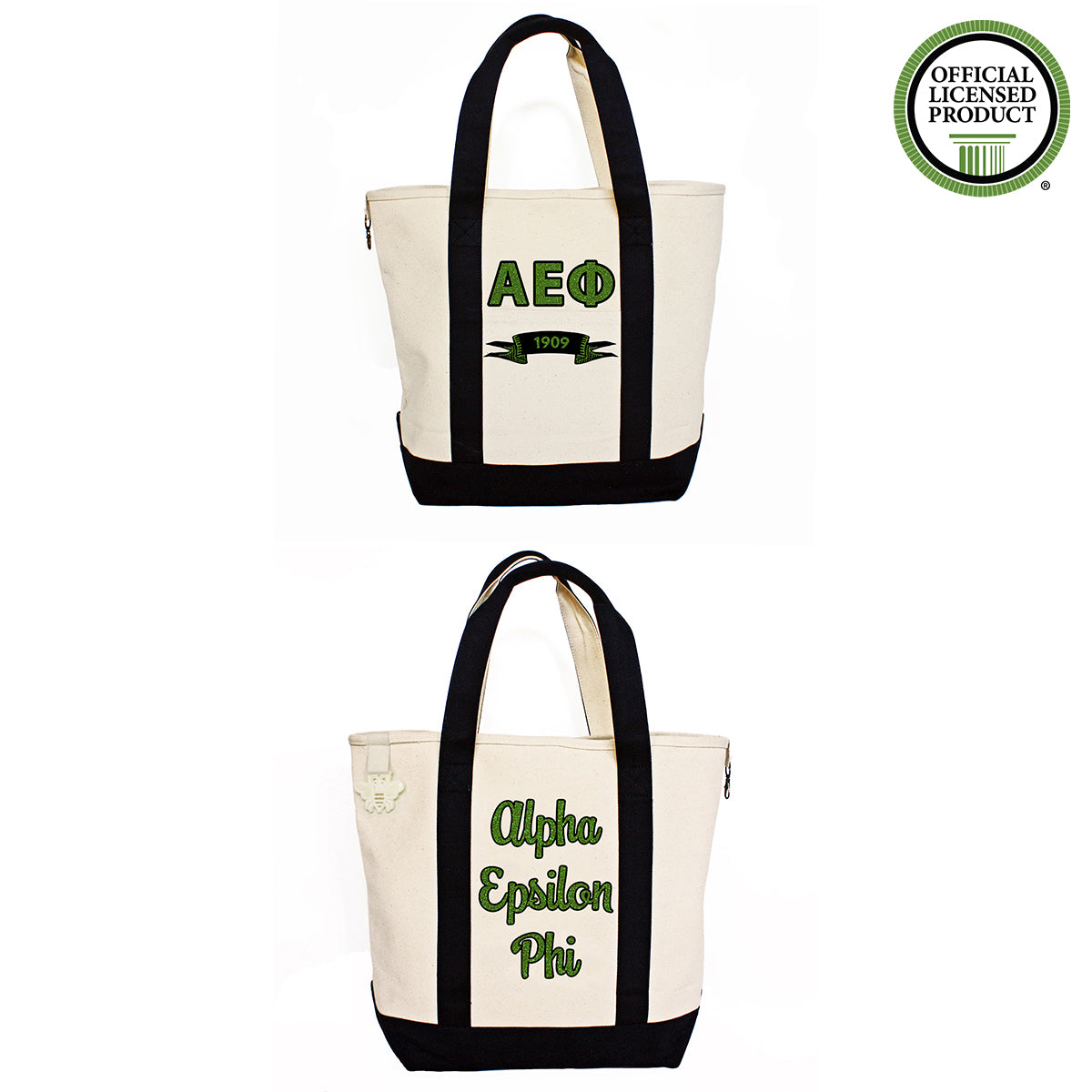 Alpha Epsilon Phi Comfort Colors Tote Bag | Brit and Bee