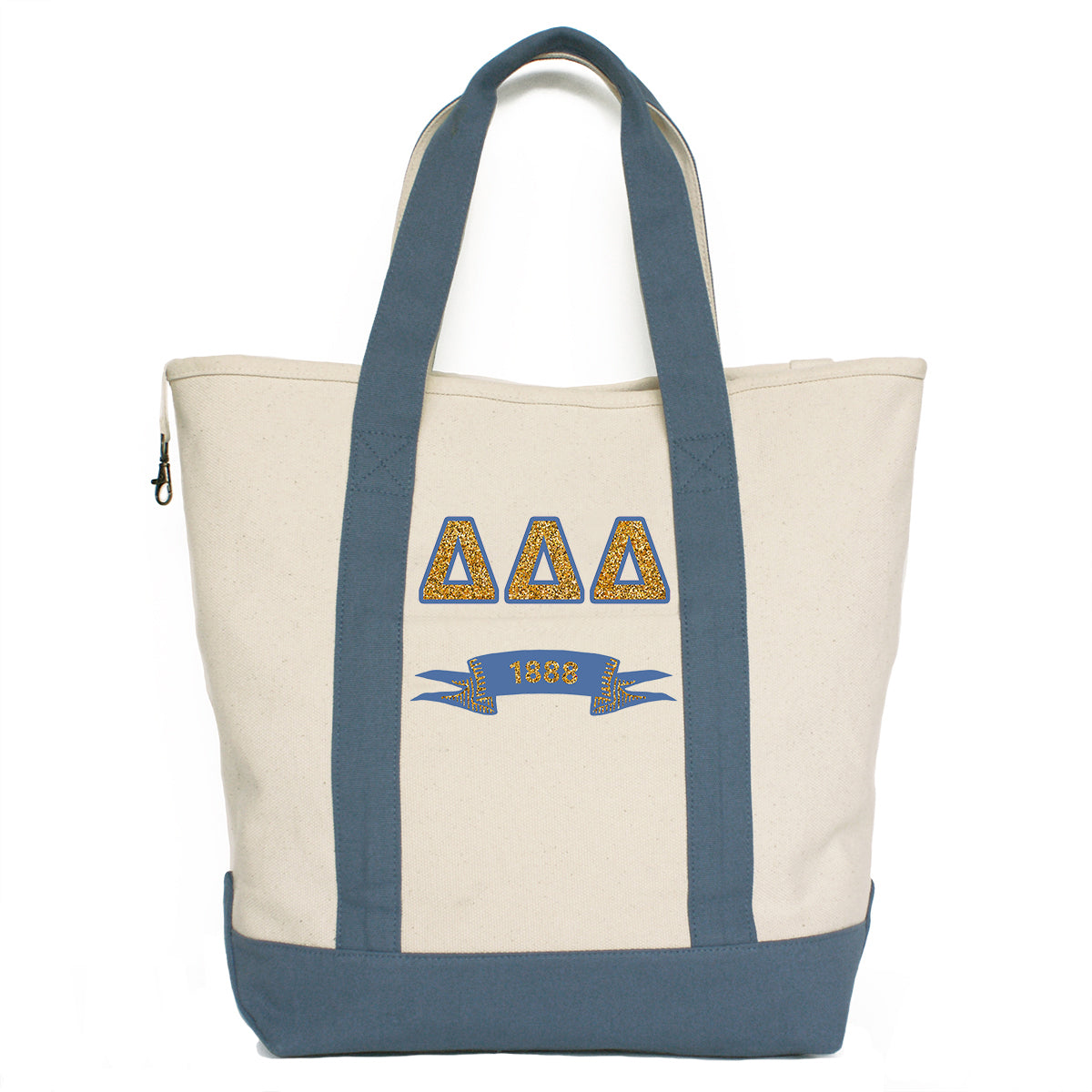 Delta Delta Delta Comfort Colors Tote Bag | Brit and Bee