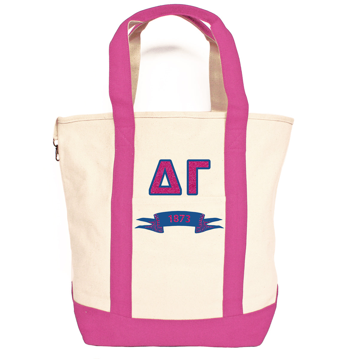 Delta Gamma Comfort Colors Tote Bag | Brit and Bee