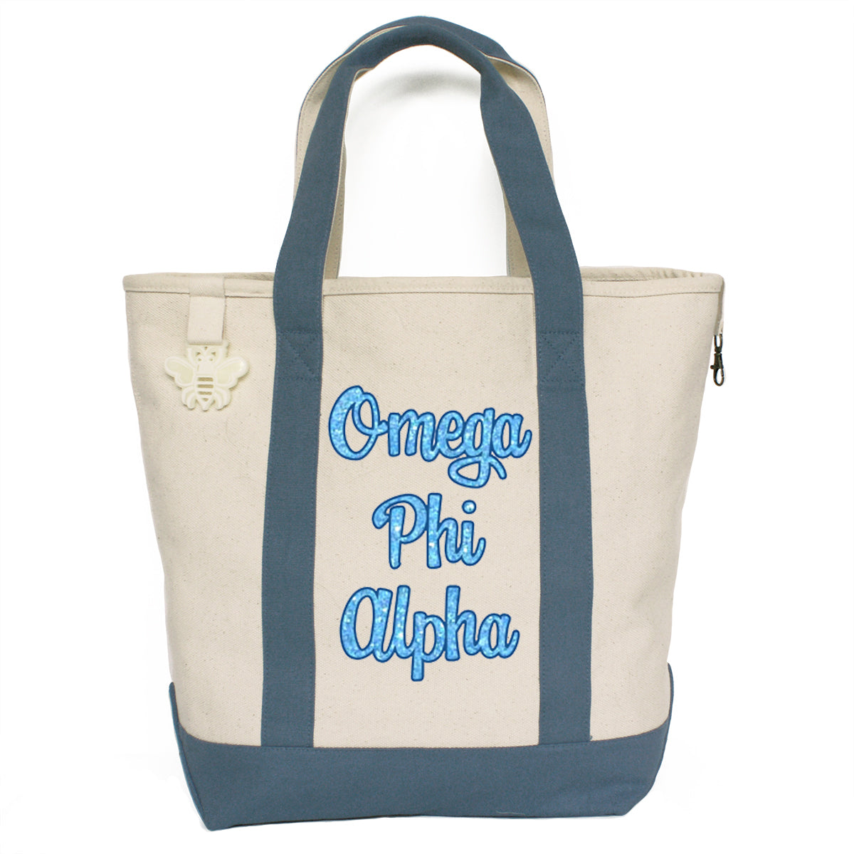 Omega Phi Alpha Comfort Colors Tote Bag | Brit and Bee