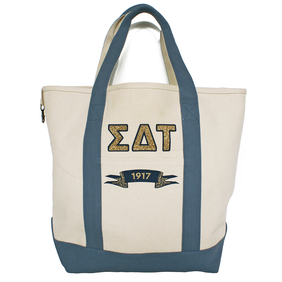 Sigma Delta Tau Comfort Colors Tote Bag | Brit and Bee