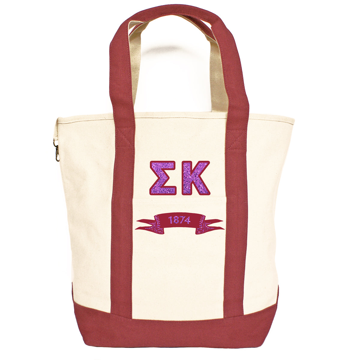 db82ee2489 Sigma Kappa - Comfort Colors® Heavy Tote Bag | Brit and Bee