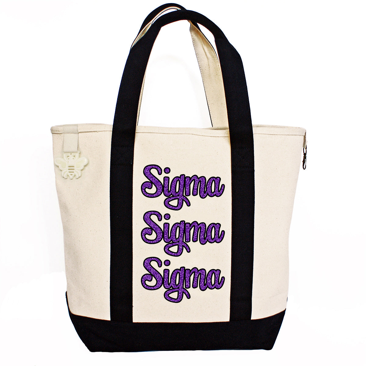 Sigma Sigma Sigma Comfort Colors Tote Bag | Brit and Bee