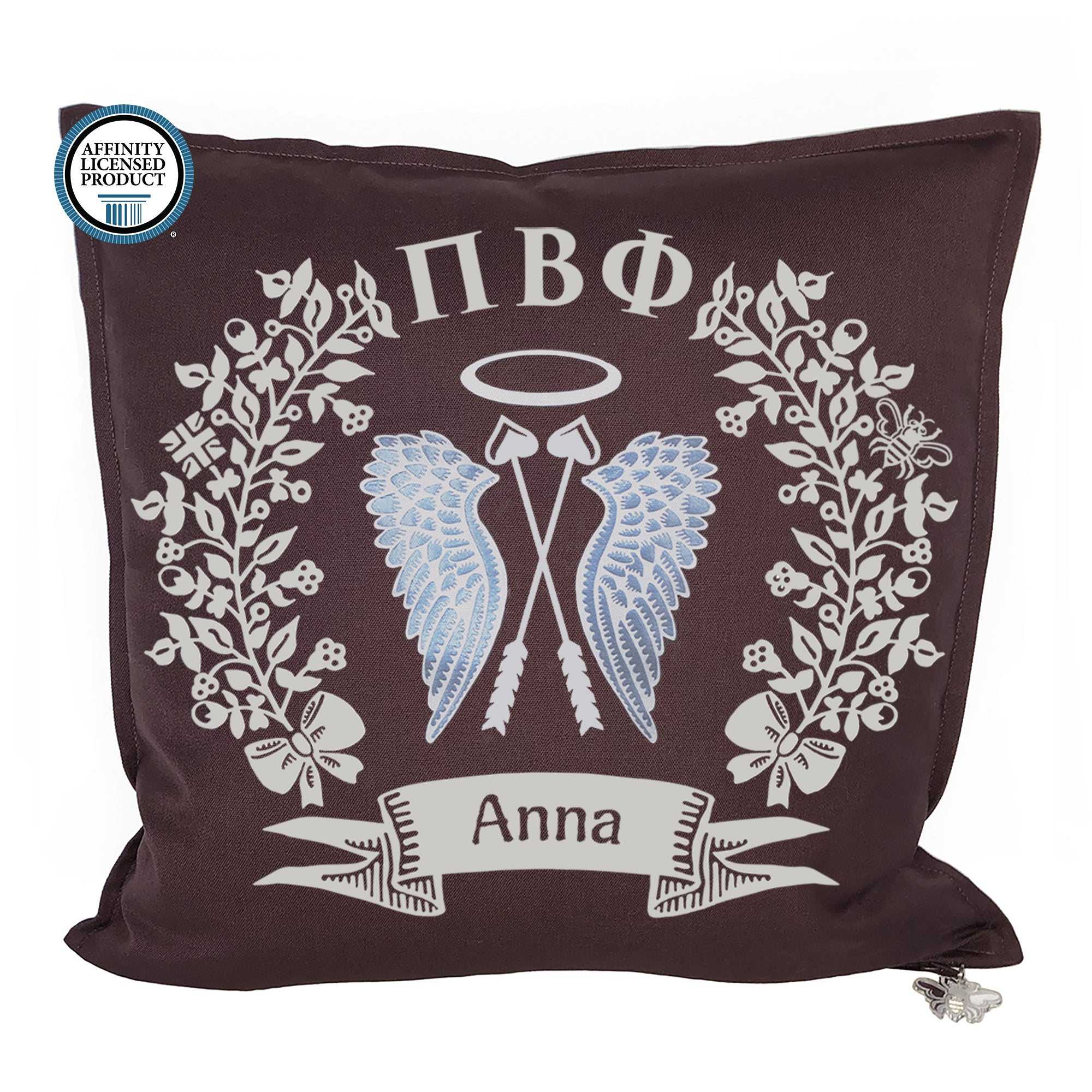 Pi Beta Phi Pillow | Brit and Bee
