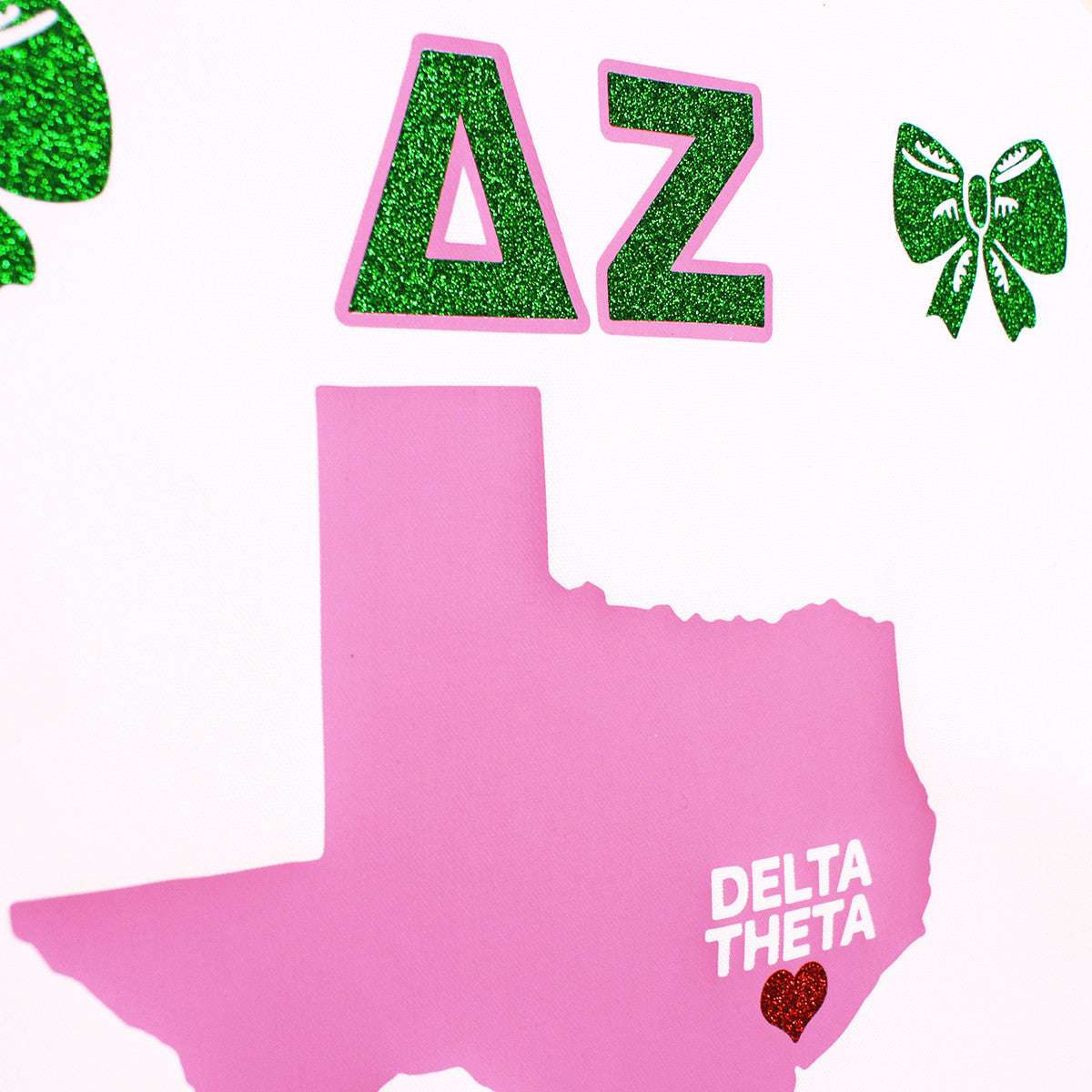 Sorority Chapter Pennant Flag - Delta Zeta