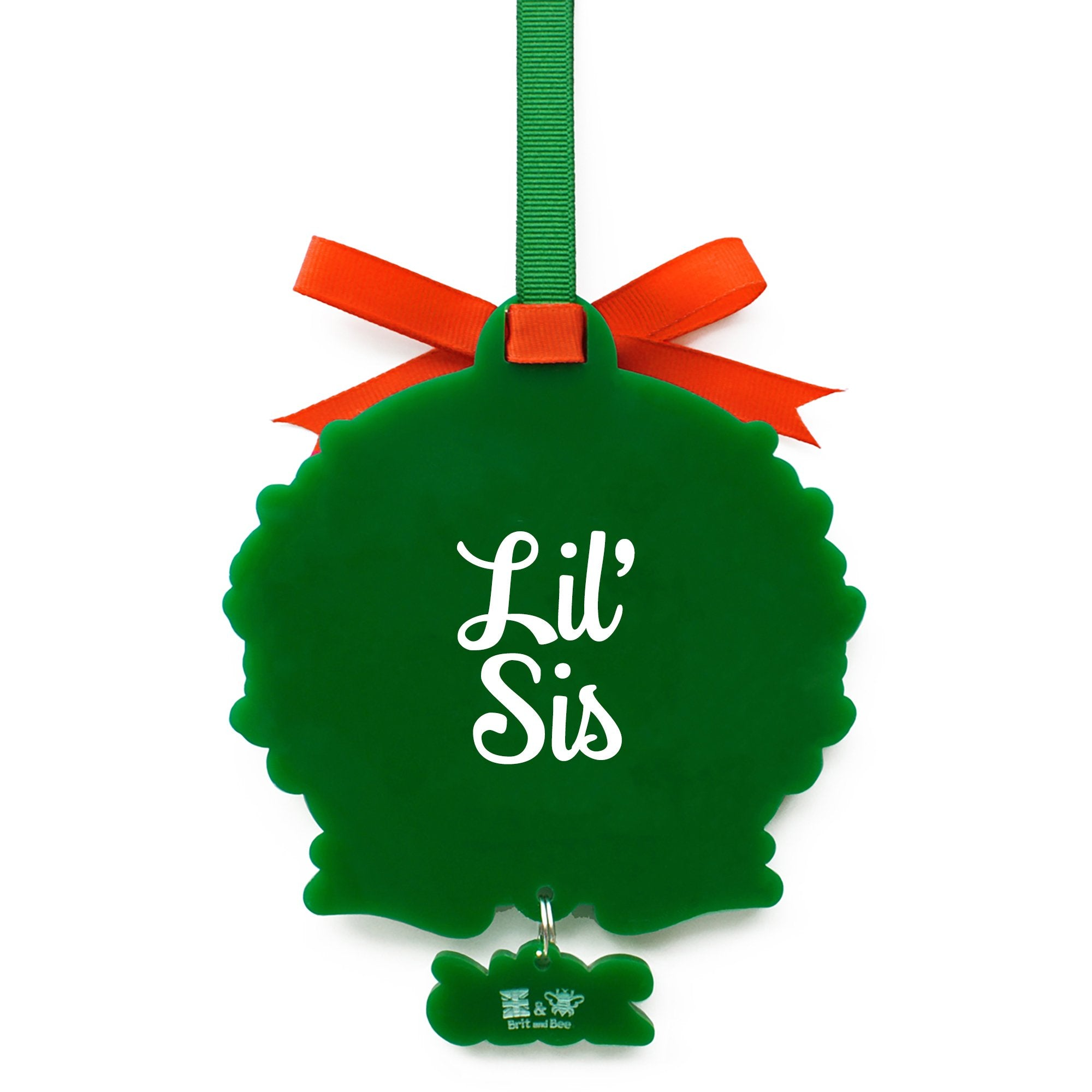 Alpha Chi Omega Sorority Logo Ornament | Brit and Bee