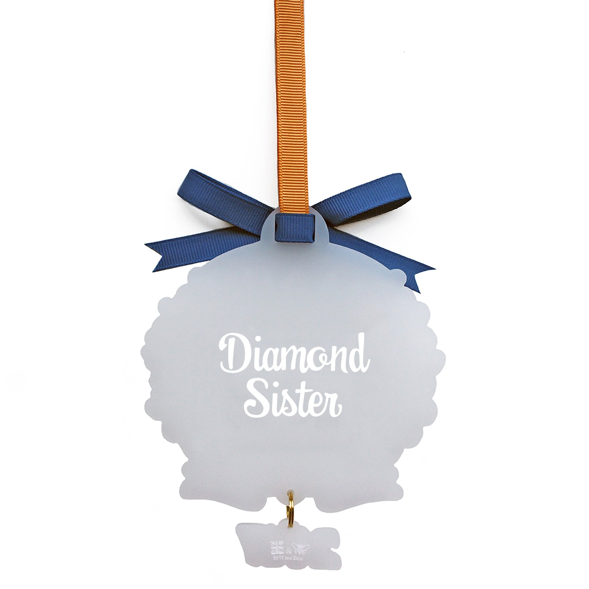 Alpha Delta Pi Sorority Ornament | Brit and Bee