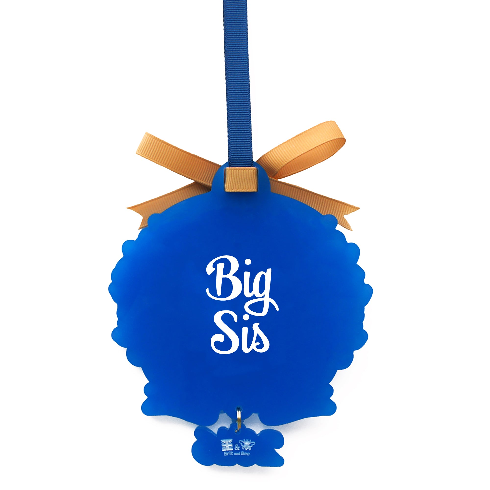 Alpha Phi Omega Sorority Ornament | Brit and Bee