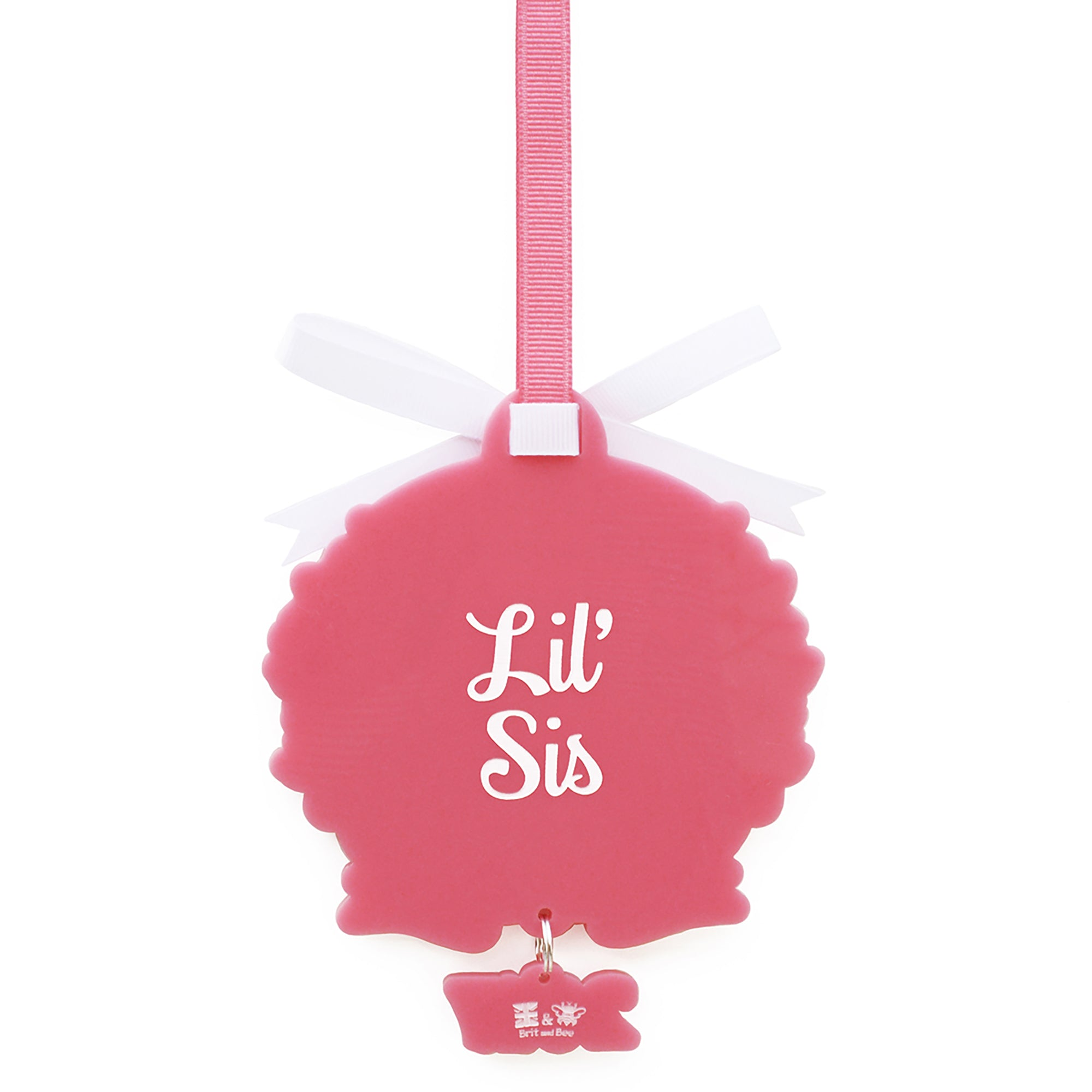 Phi Mu Ornament | Brit and Bee