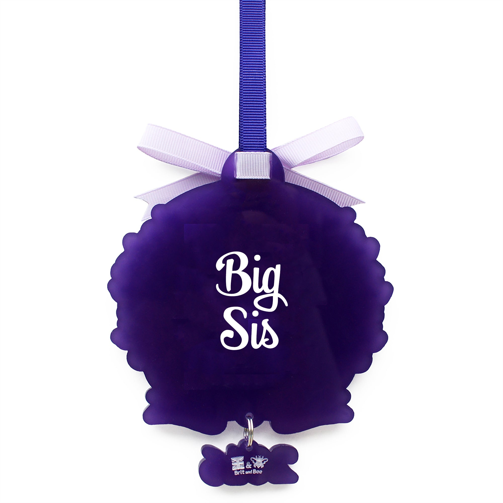 Tri Sigma Sorority Logo Ornament | Brit and Bee