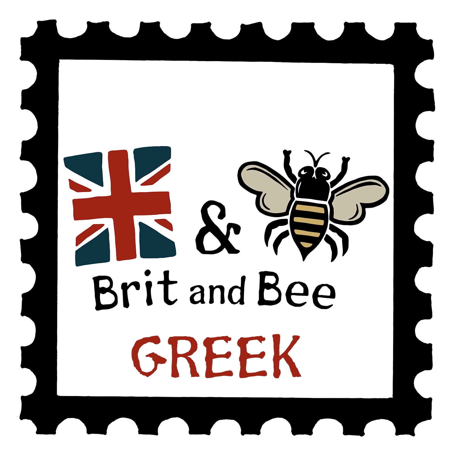 Brit and Bee Greek Sorority Gifts
