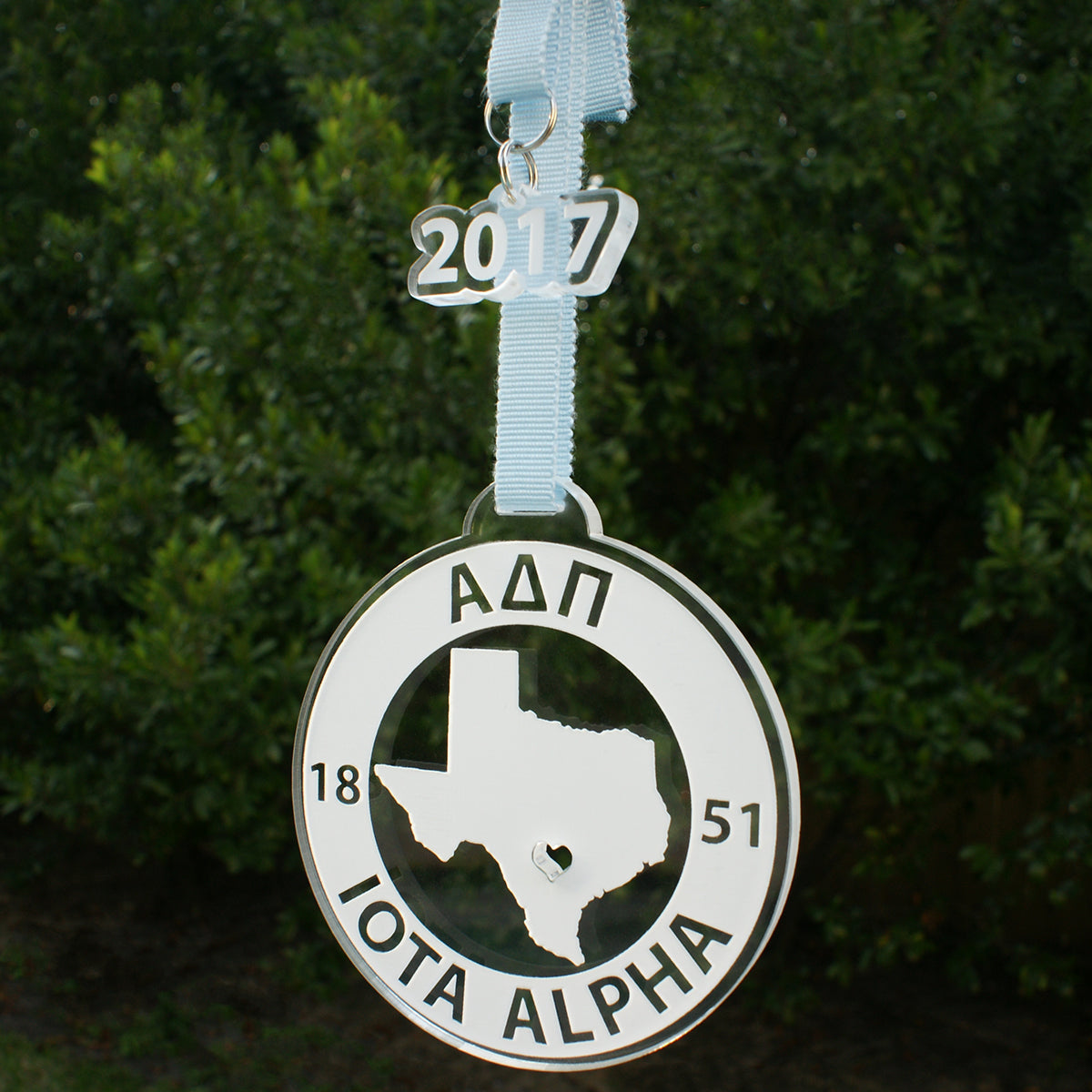 Brit and Bee Sorority State Ornament - Alpha Delta Pi