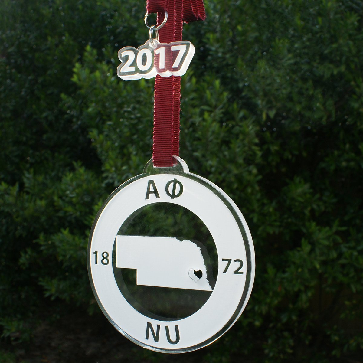 Alpha Phi Ornament | Brit and Bee