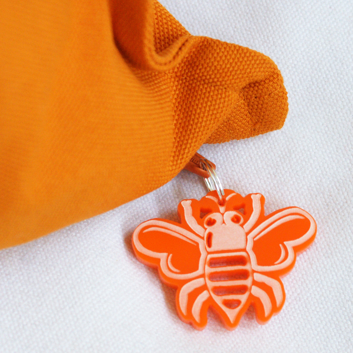 Brit and Bee Zip-Pull