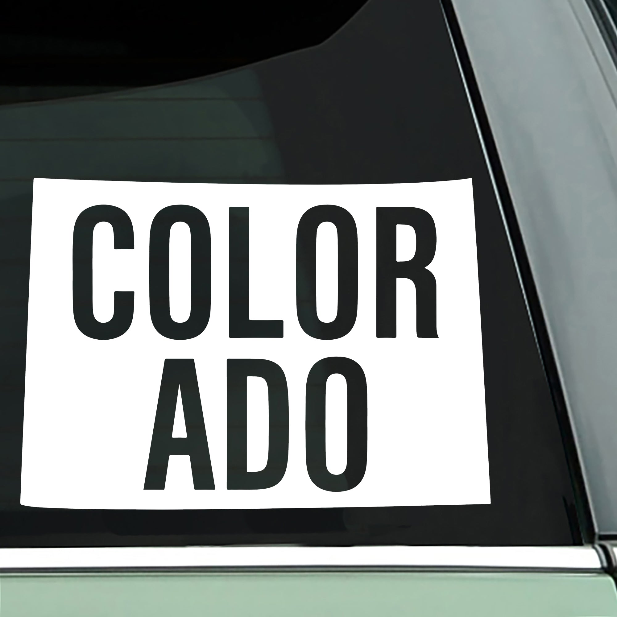 Colorado State Decal | Brit and Bee