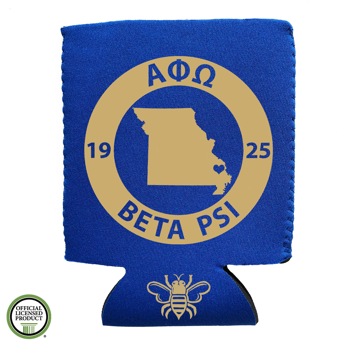 Brit and Bee Coozie - Alpha Phi Omega
