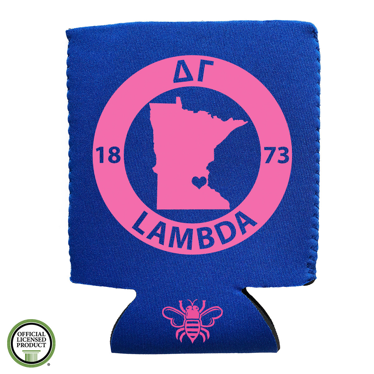 Brit and Bee Sorority Coozie - Delta Gamma