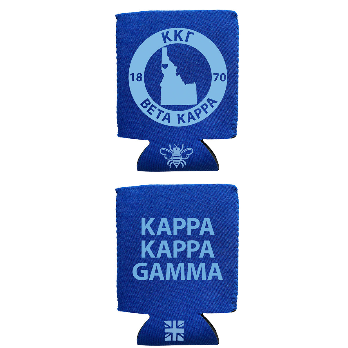 Brit and Bee Coozie - Kappa Kappa Gamma