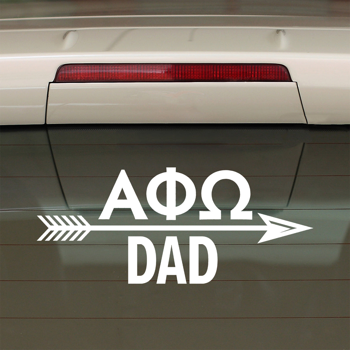 Brit and Bee Sorority Arrow Decal - Alpha Phi Omega