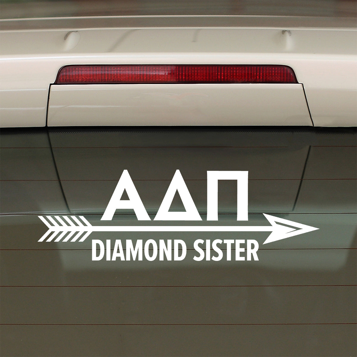 Brit and Bee Sorority Arrow Decal - Alpha Delta Pi