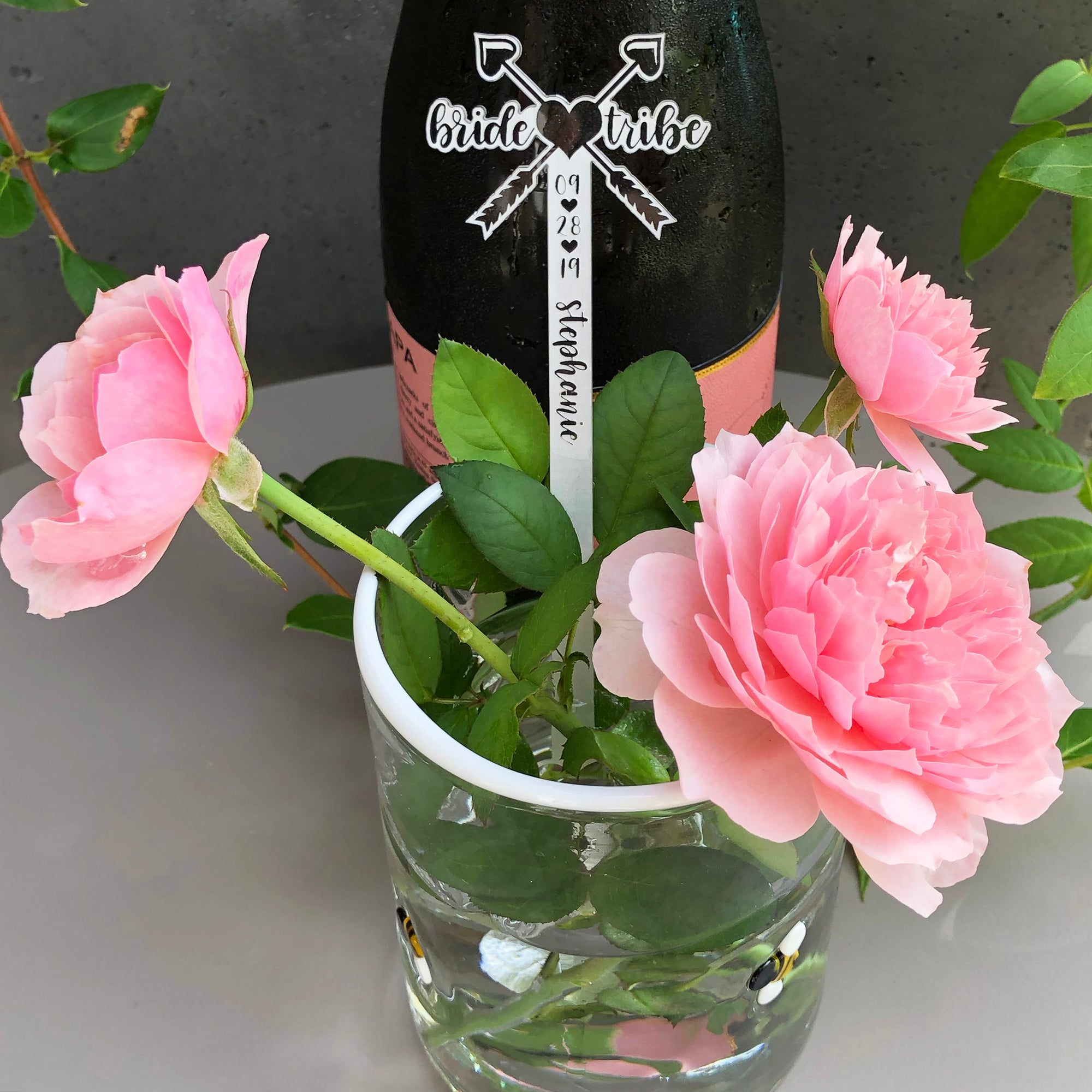 Bride Tribe Swizzle Sticks | Brit and Bee