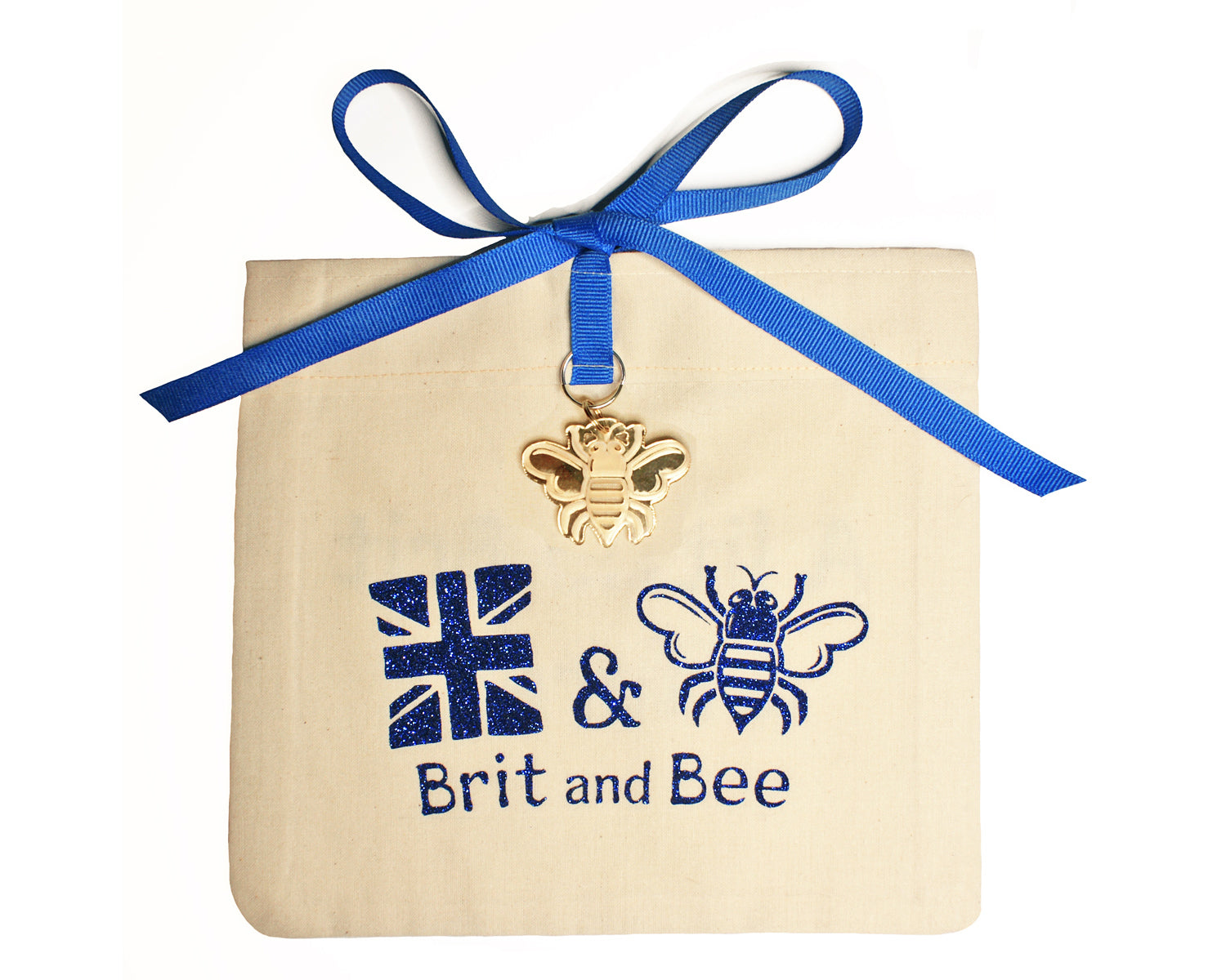 Brit and Bee Logo Ornament - Gift Bag