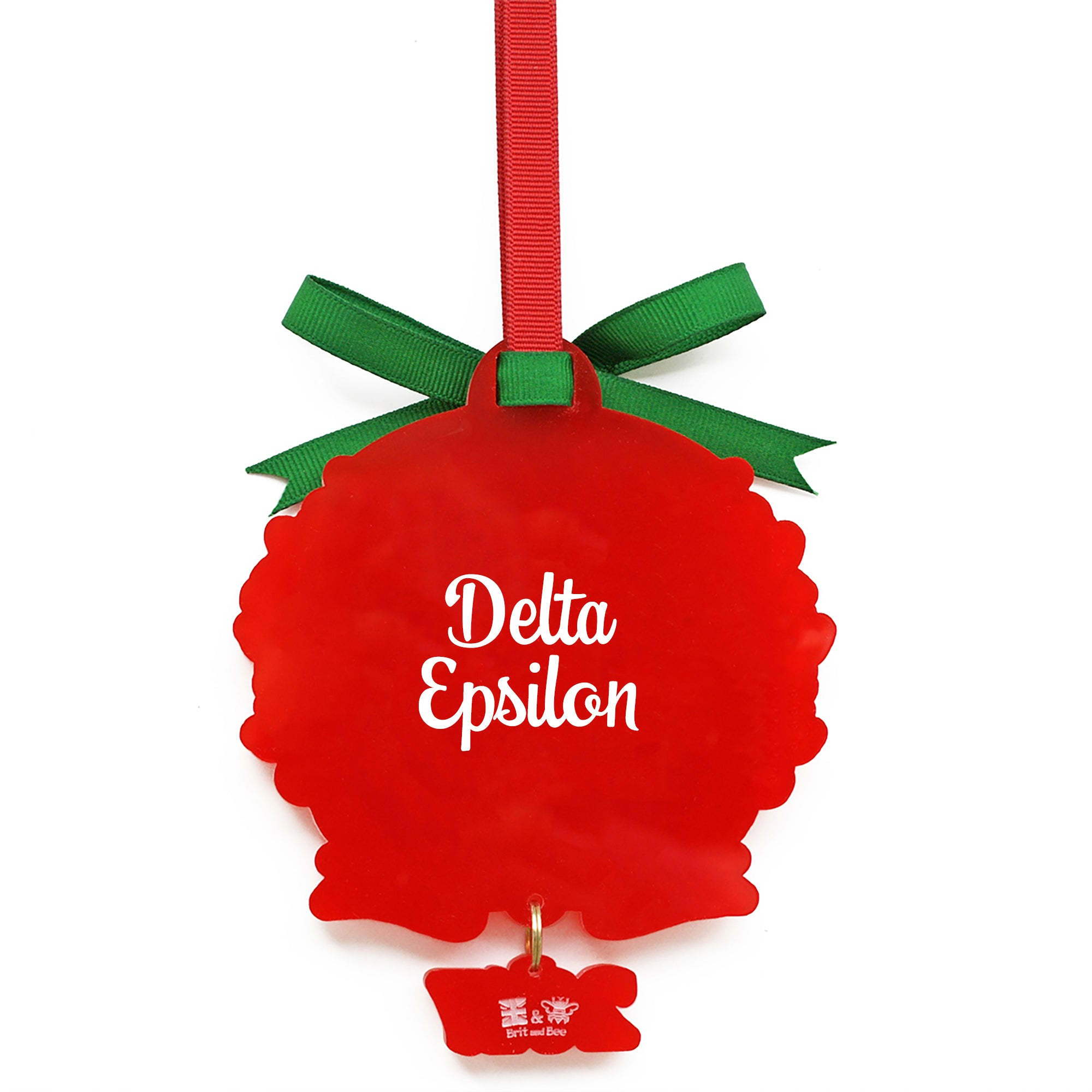 Alpha Gamma Delta Sorority Ornament | Brit and Bee