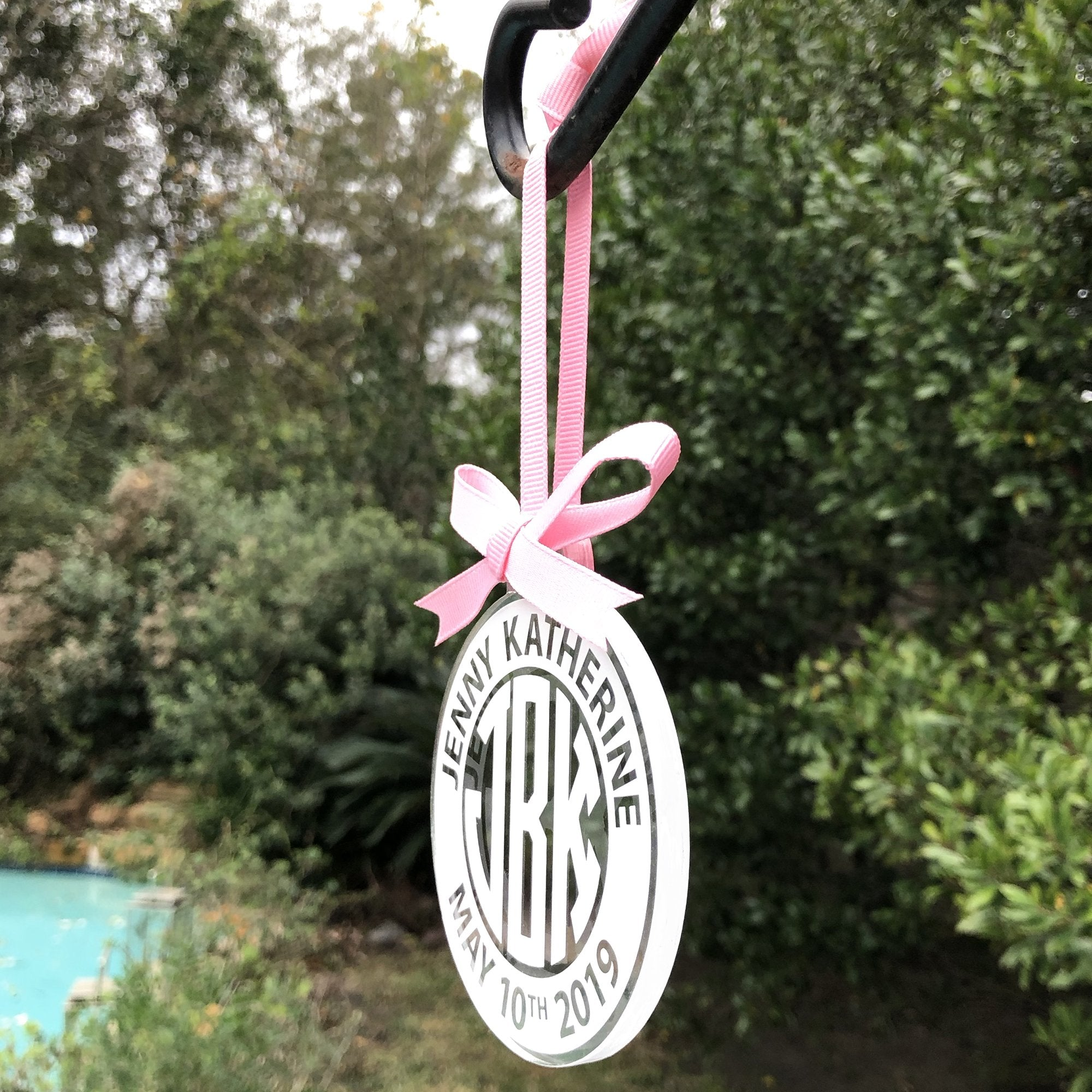 Baby Girl Ornament | Brit and Bee