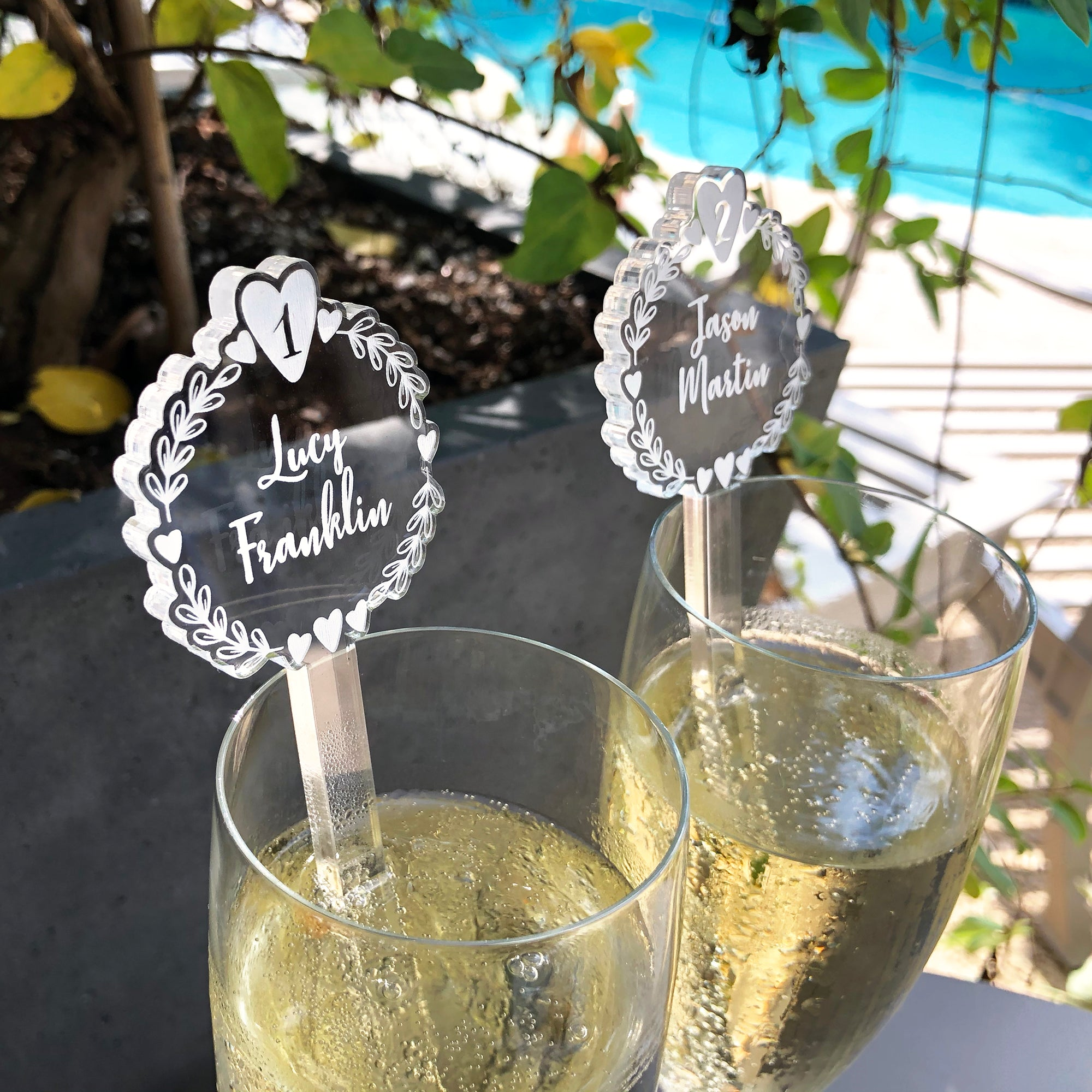 Wedding Swizzle Sticks | Brit and Bee
