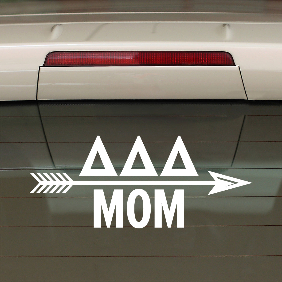 Brit and Bee Sorority Arrow Decal - Delta Delta Delta