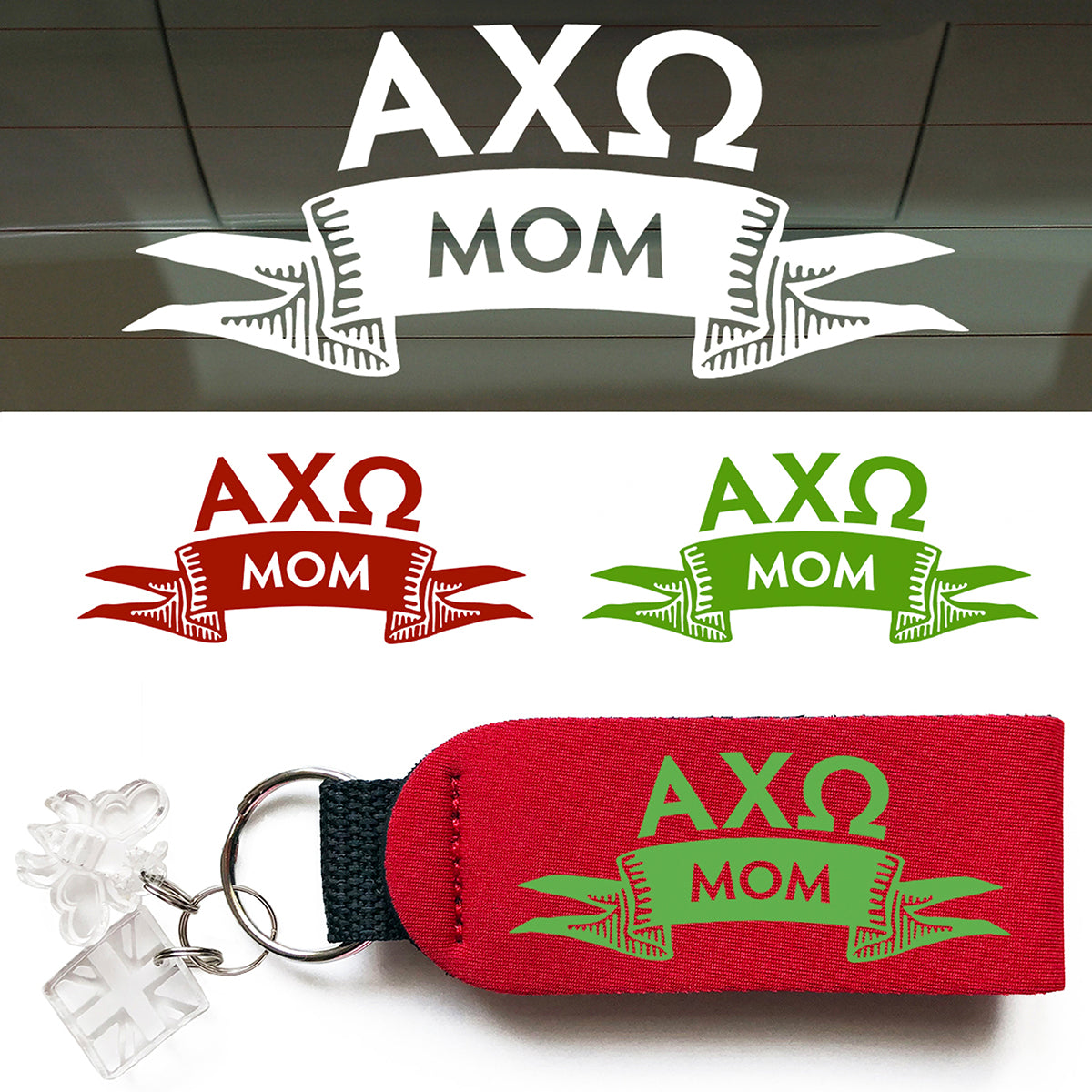 Alpha Chi Omega Mom Gift Pack | Brit and Bee