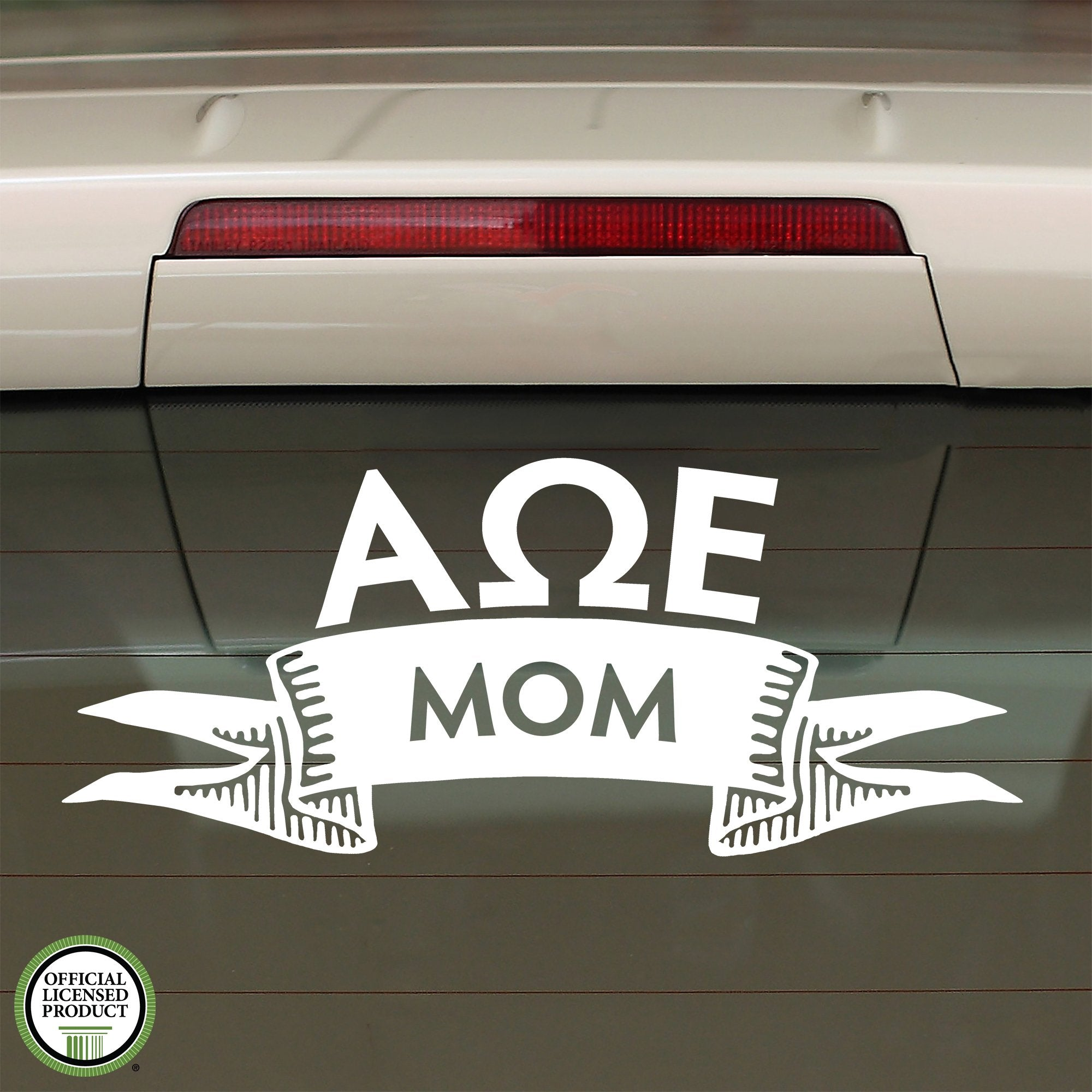 Alpha Omega Epsilon Mom Decal | Brit and Bee