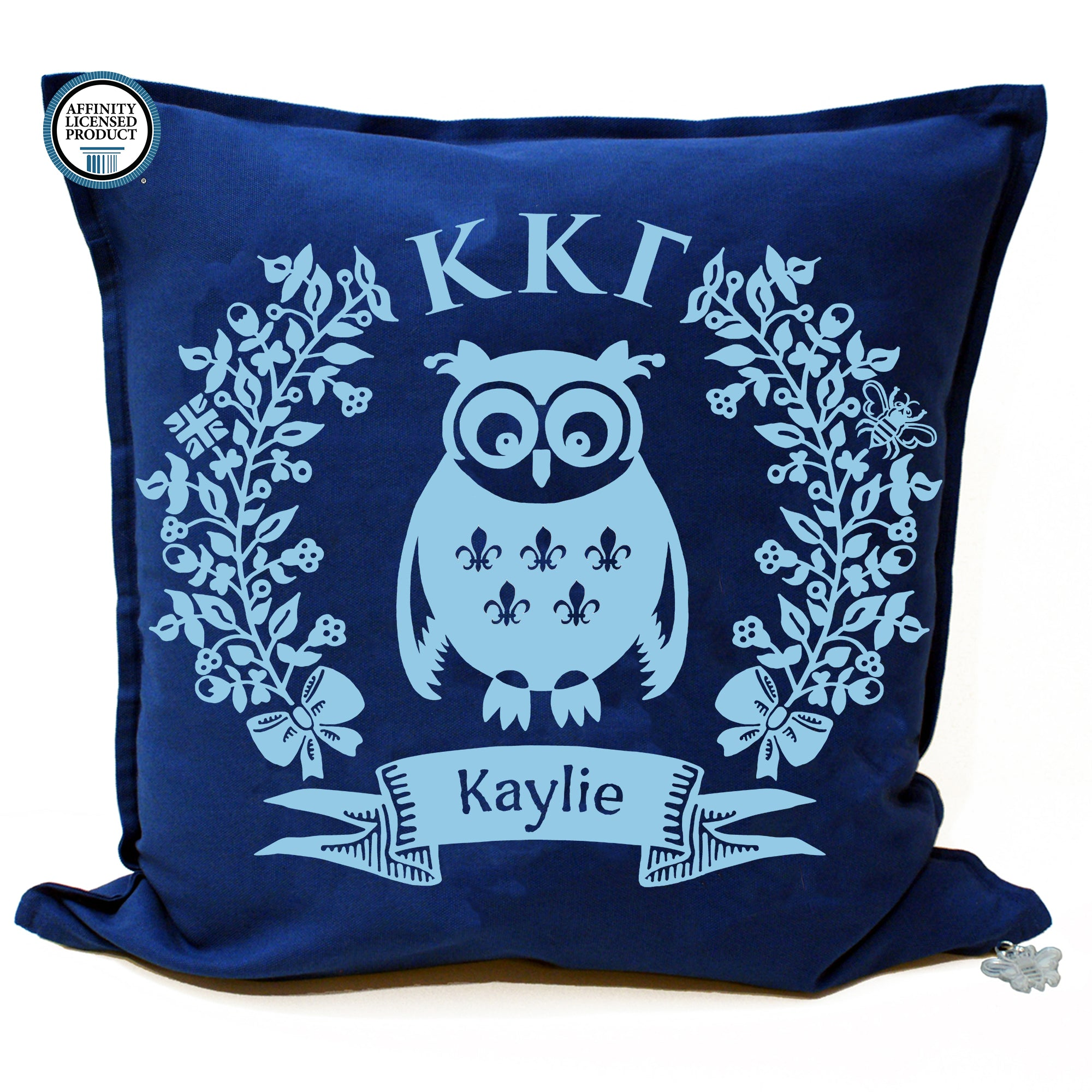Kappa Kappa Gamma Pillow | Brit and Bee