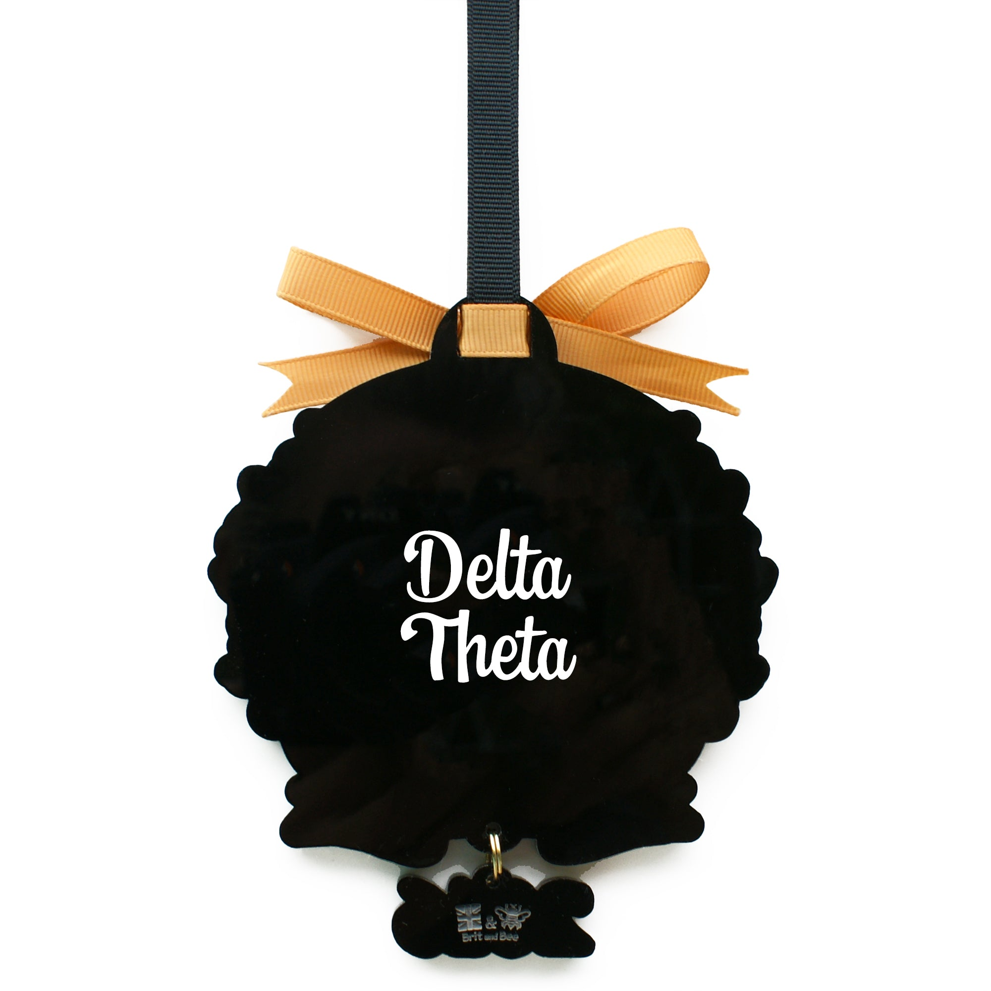 Kappa Alpha Theta Sorority Ornament | Brit and Bee