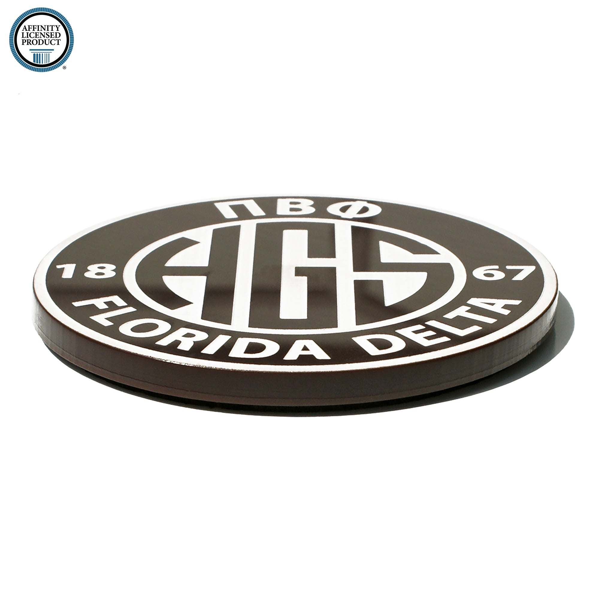 Pi Beta Phi Coaster | Brit and Bee