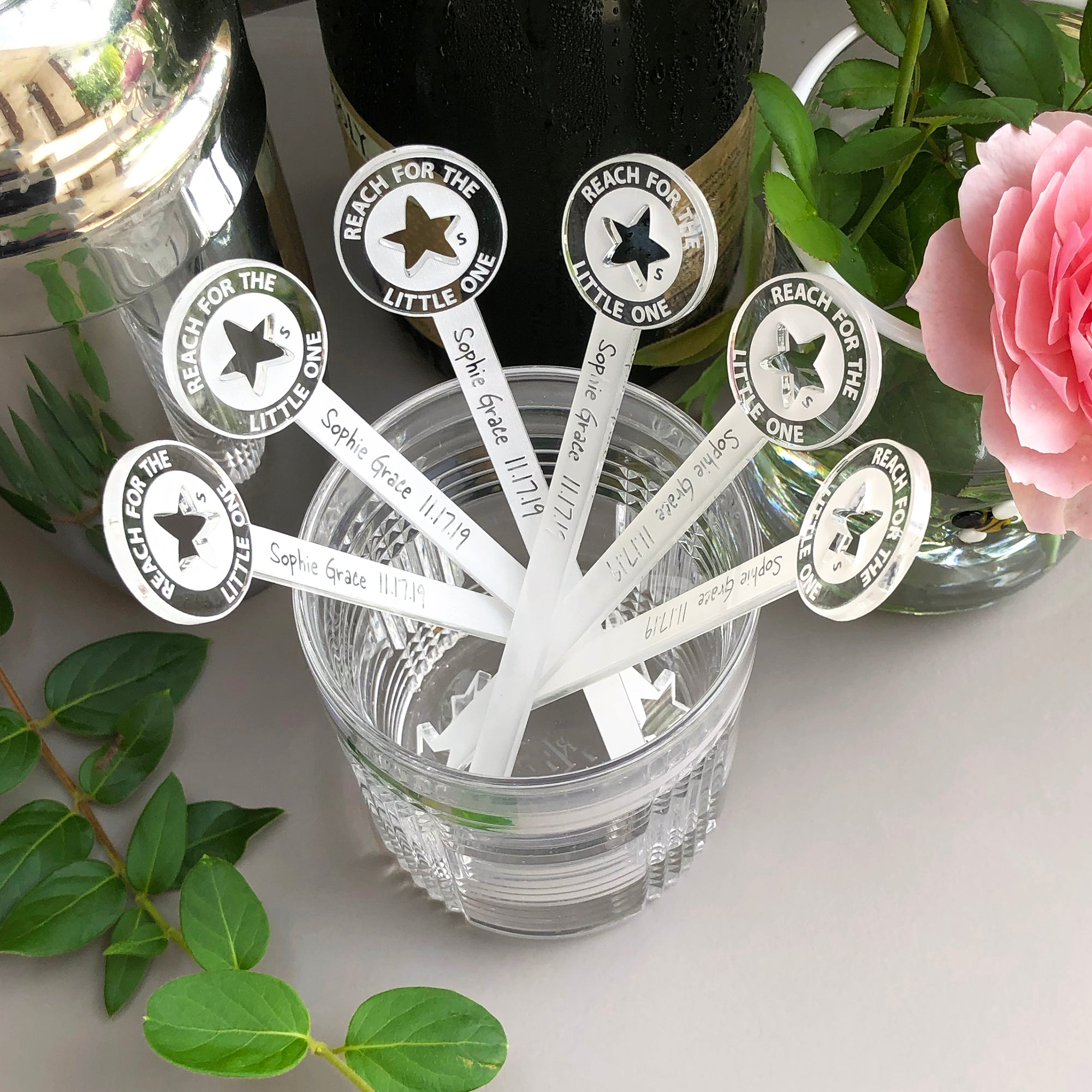 Reach For The Stars Swizzle Sticks | Brit and Bee