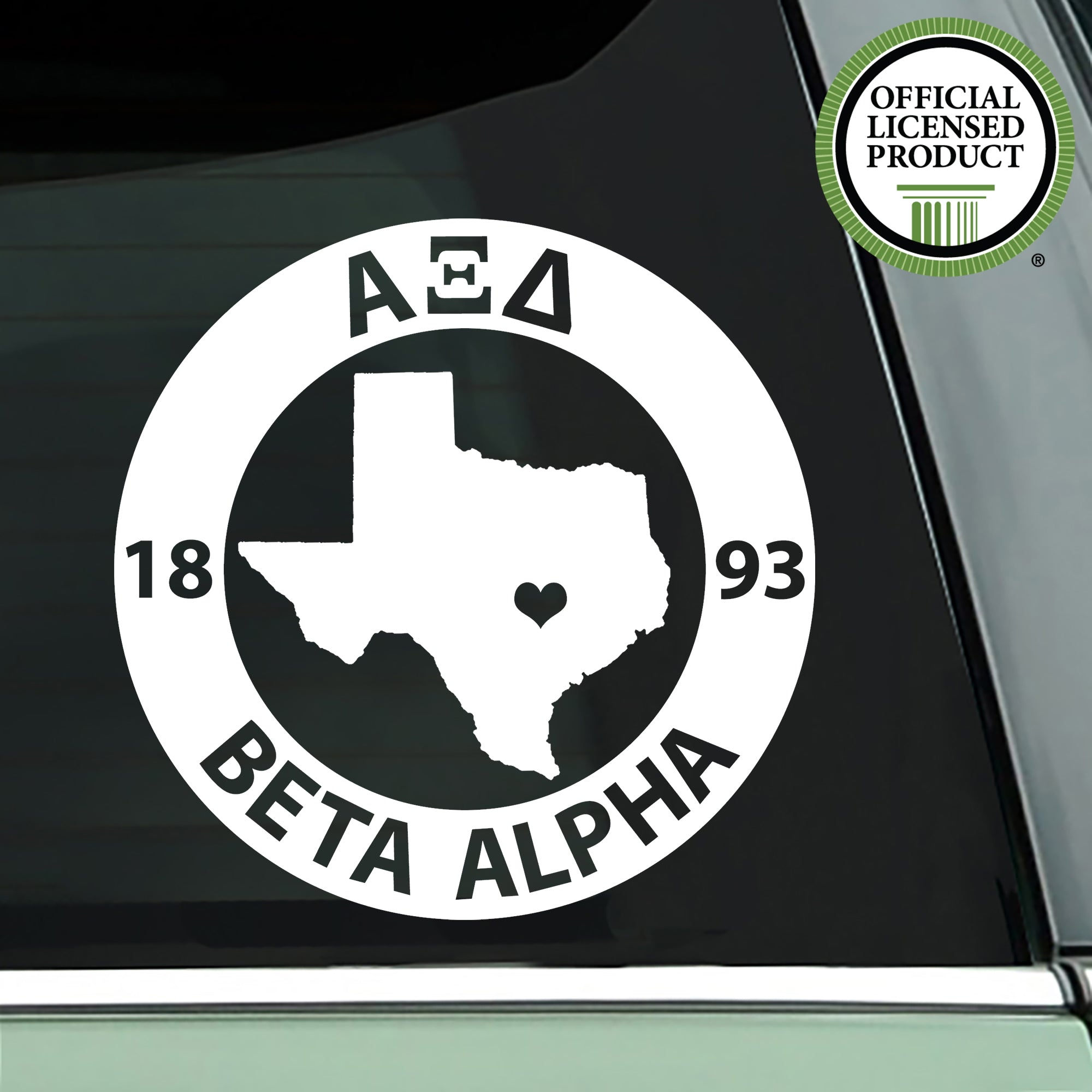 Alpha Xi Delta State Decal | Brit and Bee